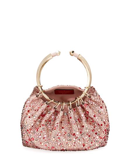 Bebop Loop Embellished Clutch Bag