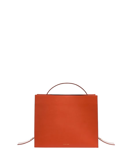 Leather Bicolor Young Tote Bag