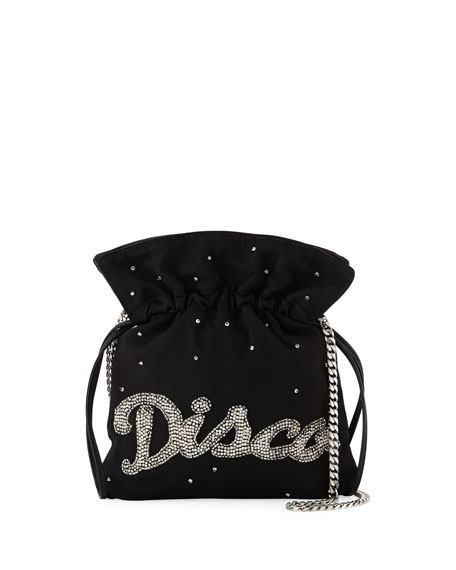 Trilly Disco Strass Pouch Bag