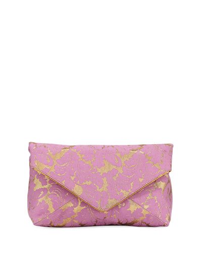 Metallic Brocade Small Crossbody Bag