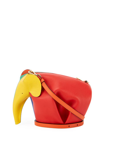 Elephant Colorblock Mini Bag
