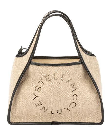 03a0c0df65 Stella McCartney Canvas Logo Tote Bag