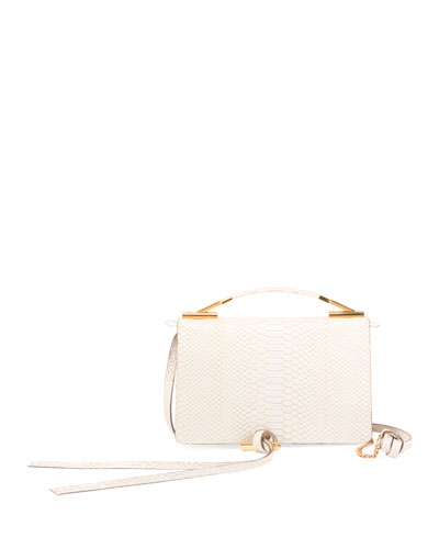 Alter Snake Crossbody Flap Bag