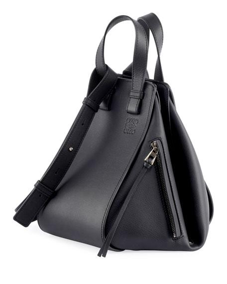 Hammock Smooth Leather Shoulder Bag