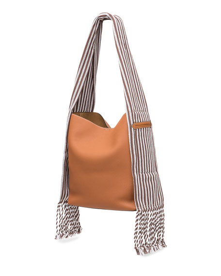 Scarf Bucket Bag