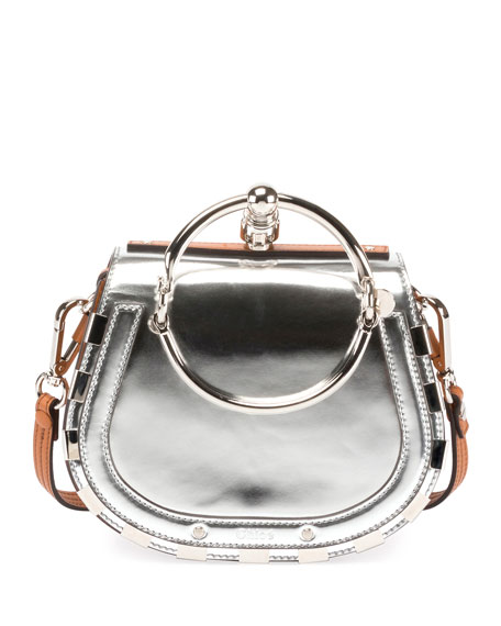Nile Small Metallic Bracelet Bag