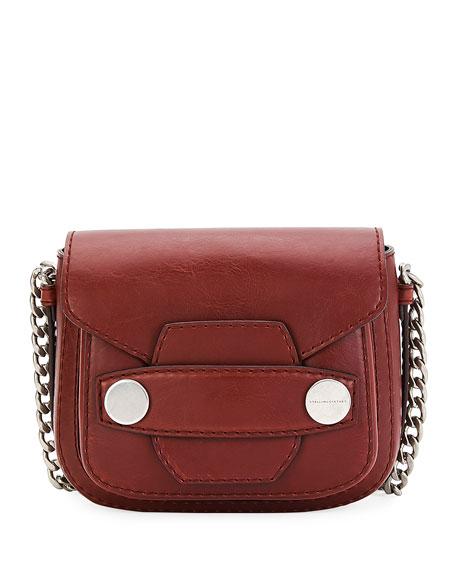 0589a6823114 Stella McCartney Popper Mini Faux-Leather Shoulder Bag