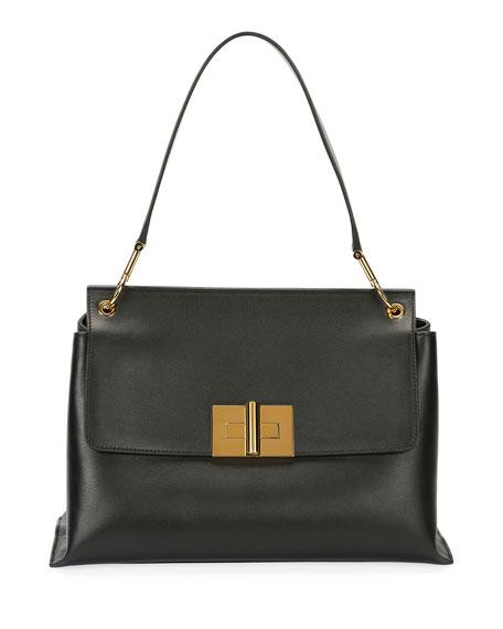 Natalia Leather Shoulder Bag
