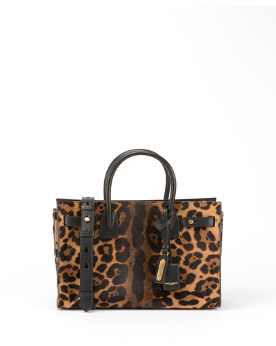 Sac de Jour Baby Supple Leopard Satchel Bag
