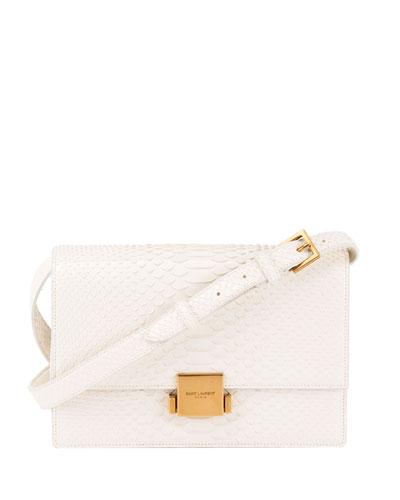 Bellechase Medium Python Crossbody Bag