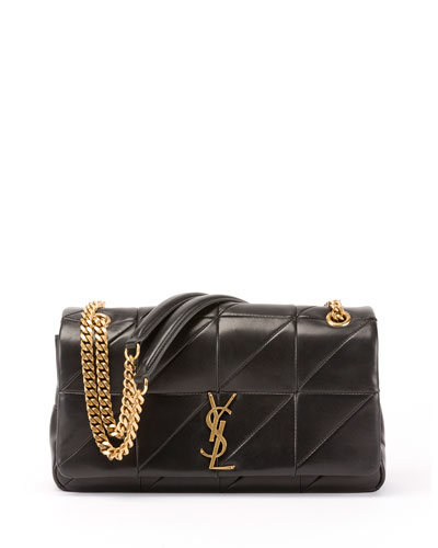 Jamie Medium Diamond-Quilted Chain Shoulder Bag