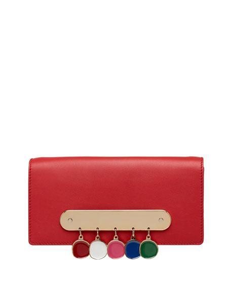 Candy Bar Clutch Bag with Rainbow Coins