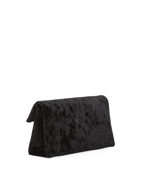 1712 Crushed Velvet Clutch Bag