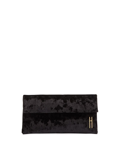 1712 Crushed Velvet Clutch Bag