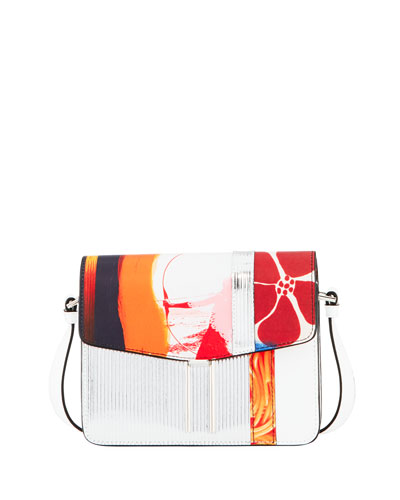 Mini H Mixed-Media Shoulder Bag