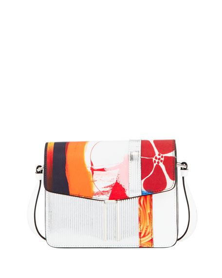 Mini H Mixed-Media Shoulder Bag