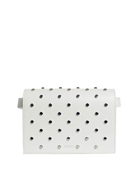 LE BELT BAG IN STUDDED CALF LEATHER