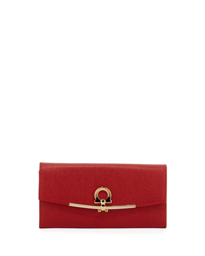 Icona Continental Wallet  Framboise
