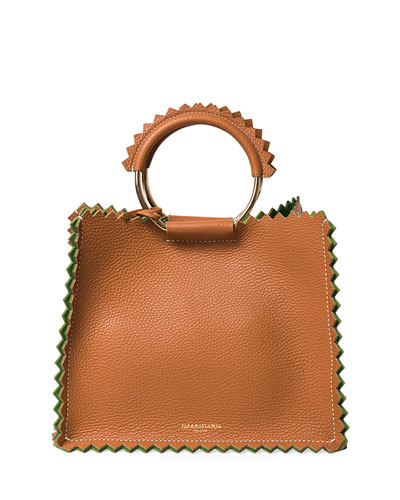 Helen Leather Tote Bag