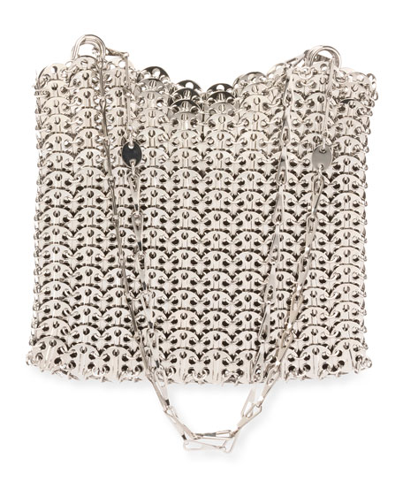 Iconic Small Brass Link Chain Shoulder Bag