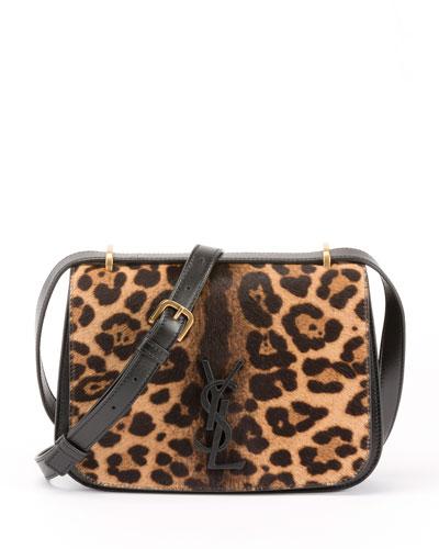 Monogramme Spontini Veau Calf Hair Crossbody Bag