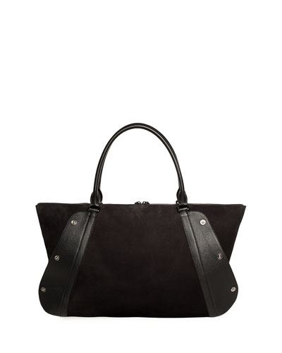 Aimee Medium Snap Satchel Bag