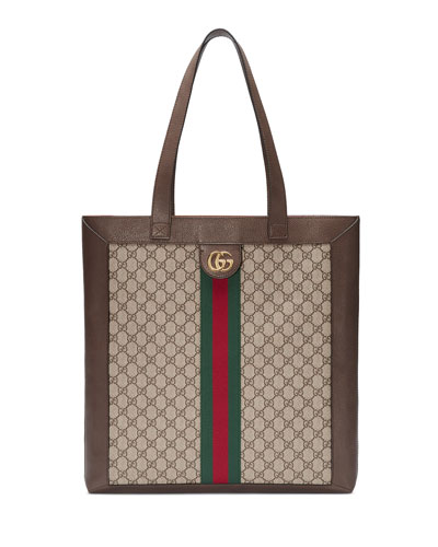 GG Supreme Jacquard Striped Tote Bag