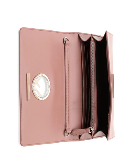 F Seal Leather Wallet on a Chain