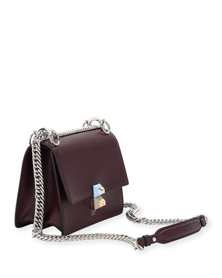 Kan I Mini Scallop Studded Shoulder Bag