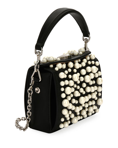 Nano Beaded Box Bag