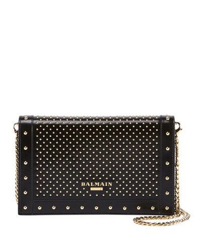 Lisse Mini Studs Envelope Clutch Bag