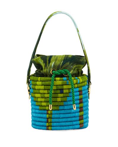 La Isla Hard Wrapped Bucket Bag