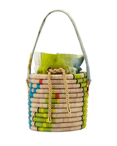 El Cuilko Cactus Bucket Bag