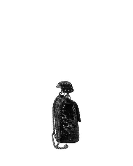 Spike.It Medium Sequin Shoulder Bag