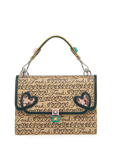 2c38d9bbe32e Kan I Fendi Love Regular Shoulder Bag