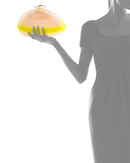 Ariel Iridescent Minaudiere, Yellow