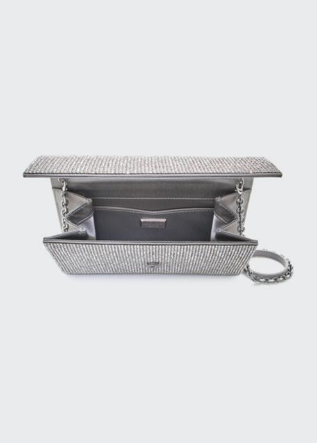 Fizzoni Full-Beaded Clutch Bag