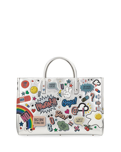 Ebury Maxi All Over Wink Stickers Tote Bag