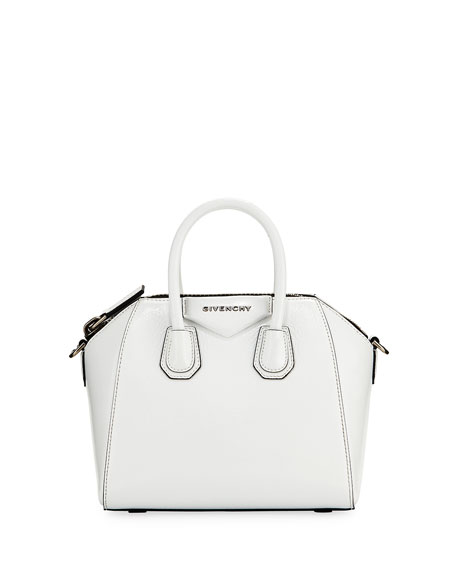 Givenchy Antigona Mini Deerskin Satchel Bag