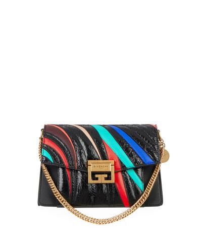 GV3 Small Sheepskin Leather Satchel Bag