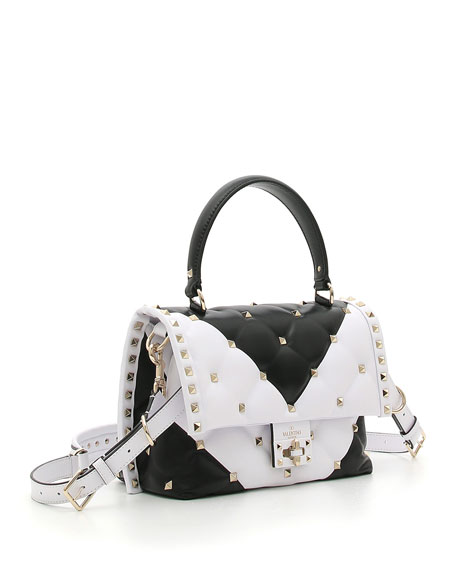 CandyStud Top-Handle Bag