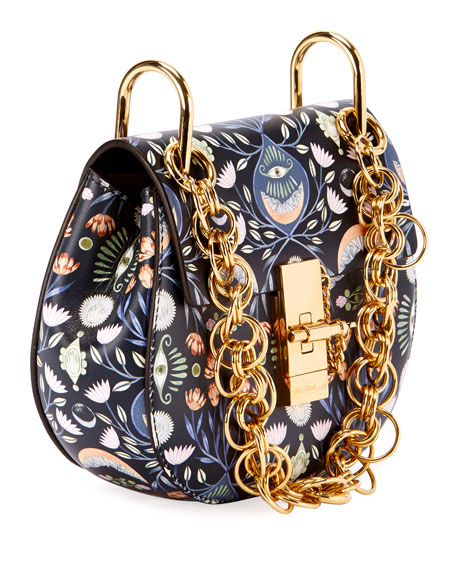Drew Bijou Mini Artistic Shoulder Bag