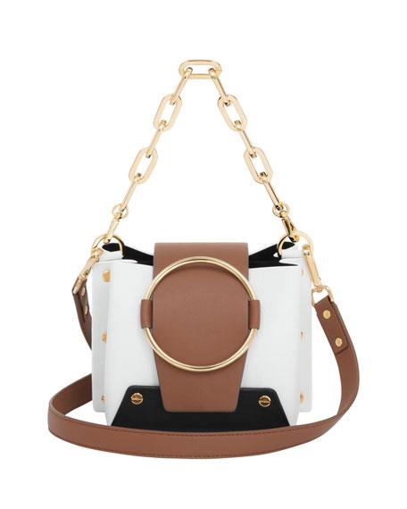 Delila Mini Colorblock Bucket Bag
