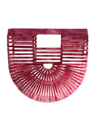 Ark Mini Cherry Acrylic Clutch Bag