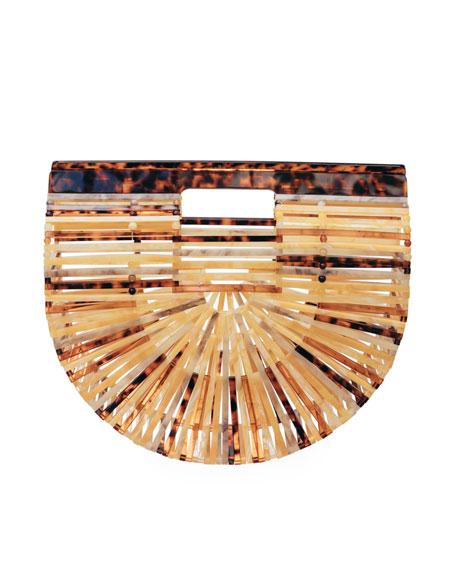 Acrylic Ark Small Top Handle Bag