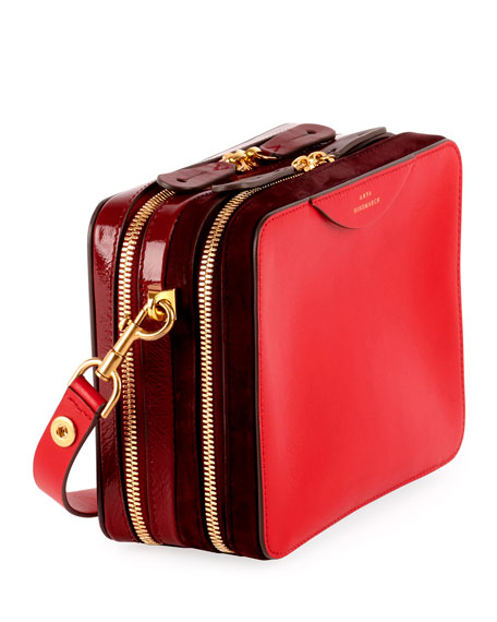 The Stack Double Crossbody Bag