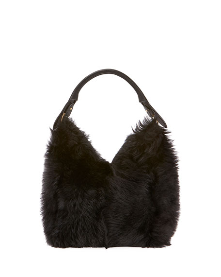 Anya Hindmarch Build A Bag Small Shearling Hobo
