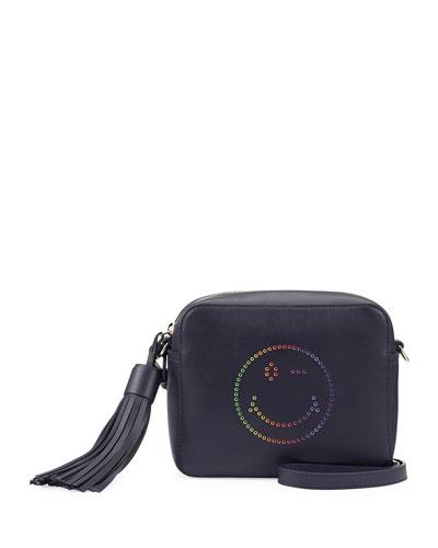 Rainbow Wink Crossbody Bag