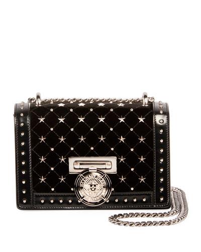 Box 20 Flap Etoile Studded Shoulder Bag