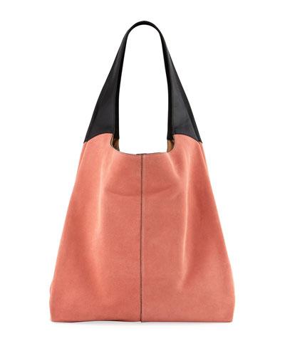 Grand Colorblock Shopper Tote Bag